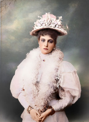Empress Alexandra of Russia.