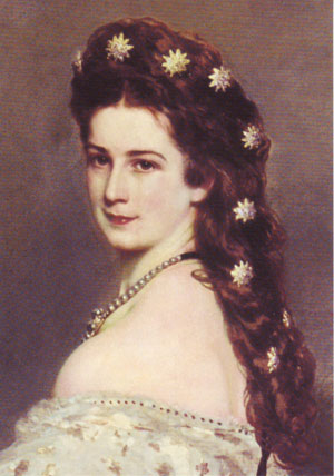 Sissi Empress of Austria.